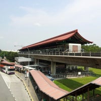 Photo taken at Lakeside MRT Station (EW26) by Kok Yong E. on 9/22/2012