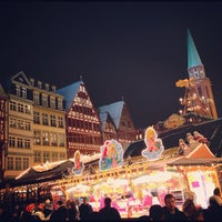 Photo taken at Frankfurter Weihnachtsmarkt by Craig F. on 12/9/2012