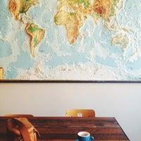 Photo taken at Kitsuné Espresso Bar Artisanal by Ali I. on 7/27/2013