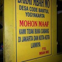 """Photo taken at Warung Bakmi """"Mbah Mo"""" by Budi S. on 2/28/2013"""