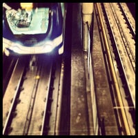 Photo taken at Broadway - City Hall SkyTrain Station by Ken C. on 10/2/2012