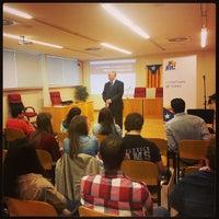 Photo taken at Universitat de Girona - Facultat de Dret by Xavier P. on 5/15/2013