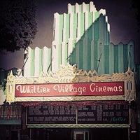 Photo taken at Whittier Village Cinemas by Joanna K. on 3/5/2013