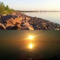 Photo taken at Набережная Финского залива by Olga B. on 6/3/2013