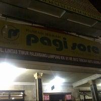 Photo taken at Rumah Makan Pagi Sore Teluk Gelam by Arief I. on 8/31/2014