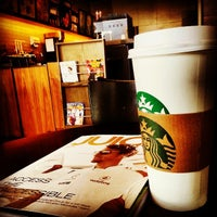 Photo taken at Starbucks by aedy _. on 4/4/2013