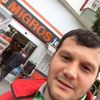 Photo taken at Migros by Vacip S. on 3/26/2015