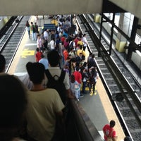 Photo taken at Yellow Line - Taft Avenue Station by Rabby C. on 4/9/2013