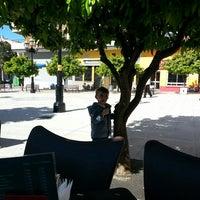 Photo taken at Plaza de la Iglesia by Juan Maria F. on 3/28/2015