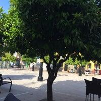 Photo taken at Plaza de la Iglesia by Juan Maria F. on 5/1/2015