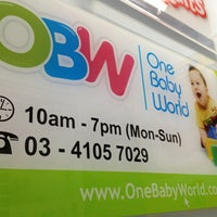 Photo taken at One Baby World by Maaruf M. on 1/5/2013