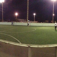 Photo taken at Cancha futbol ITSON by Vianey A. on 9/12/2013