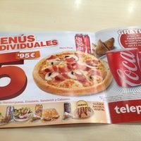 Photo taken at Telepizza by Chavesysilvia B. on 3/3/2013