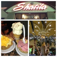 Photo taken at Shatila Bakery & Cafe by Jackeline S. on 3/16/2013