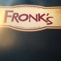Photo taken at Fronk's Restaurant by Alex W. on 3/12/2013