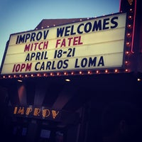 Photo taken at Ontario Improv Comedy Club by Cara D. on 4/19/2013