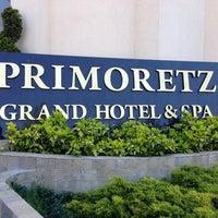 "Photo taken at Grand Hotel & Spa ""Primoretz"" by Zarema on 4/27/2013"