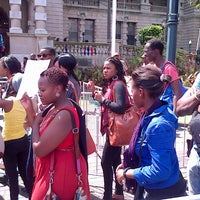 Photo taken at City hall by Simphiwe G. on 3/2/2013