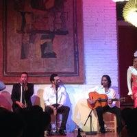 Photo taken at El Tablao de Carmen by Natasha V. on 8/15/2014