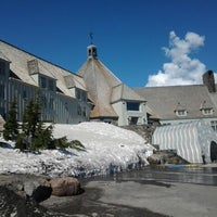Photo taken at Timberline Lodge by Paweł W. on 5/8/2013