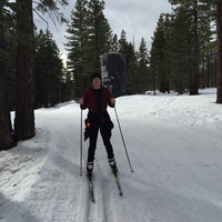 Photo taken at Tahoe Cross Country Ski Area by Andrew H. on 2/14/2016