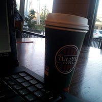 Photo taken at Tully's Coffee by Breanna S. on 3/9/2013