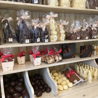 Photo taken at Chocolatier Luc Van Hoorebeke by Susan N. on 3/12/2017