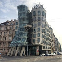 Photo taken at Dancing House by Mohammed J. on 10/13/2014