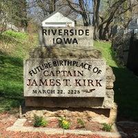 Photo taken at Riverside, IA by Tim S. on 4/13/2016