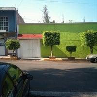 Photo taken at moctezuma deportivo los reyes by Gerardo V. on 4/21/2013