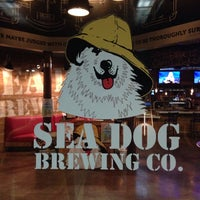 Photo taken at Sea Dog Brewing Co. by Priscila M. on 10/10/2013