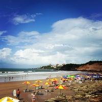 Photo taken at Praia de Cotovelo by Priscila M. on 5/1/2013