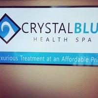 Foto tomada en Crystal Blue Health Spa por Amanda H. el 3/7/2014