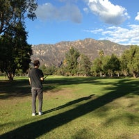 Photo taken at Altadena Golf Course by Gabe D. on 11/30/2013