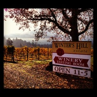 Photo taken at Winter's Hill Estate Vineyard & Winery by Lindsey M. on 11/9/2012