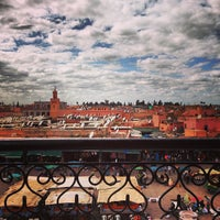 Photo taken at Place Jemaa el-Fna by Camilla E. on 3/27/2013