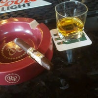 Photo taken at Stanley's Cigar Lounge by andrew r. on 4/12/2017