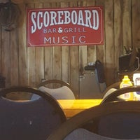 Photo taken at Scoreboard Bar & Grill by andrew r. on 4/5/2017