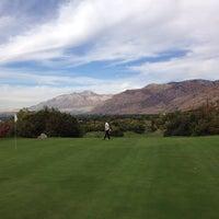 Photo taken at Mount Ogden Golf Course by Adam R. on 10/7/2013