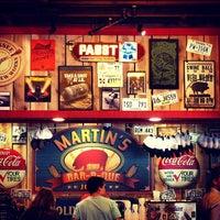 Photo taken at Martin's Bar-B-Que by John on 3/30/2014