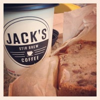 Photo taken at Jack's Stir Brew Coffee by ruth k. on 5/25/2013