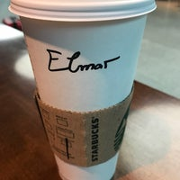 Photo taken at Starbucks by Elmar S. on 5/4/2017