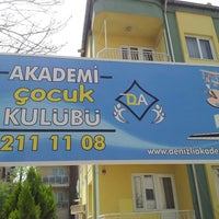 Photo taken at Akademi Çocuk Kulübü by Denizli P. on 3/31/2013