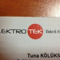 Photo taken at Elektrotek Ofis by Tuna K. on 7/9/2013