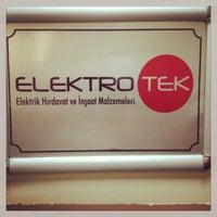 Photo taken at Elektrotek Ofis by Tuna K. on 7/3/2013