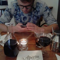 Photo taken at Aperto Chiuso by Margot N. on 5/7/2013