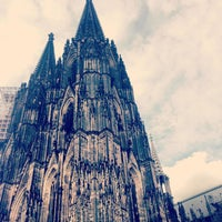 Photo taken at Cologne Cathedral by muse b. on 6/14/2013