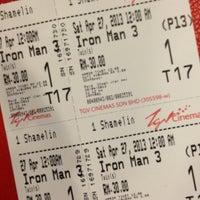 Photo taken at TGV Cinemas by JuliaNita J. on 4/26/2013