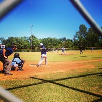 Photo taken at Fred Myers Baseball Complex by Leanna K. on 10/6/2013