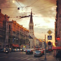 Снимок сделан в Средний проспект В. О. пользователем Alexandr K. 10/13/2012